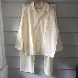 Yves Saint Laurent YSL Mens 2 Piece Pajama Set XL